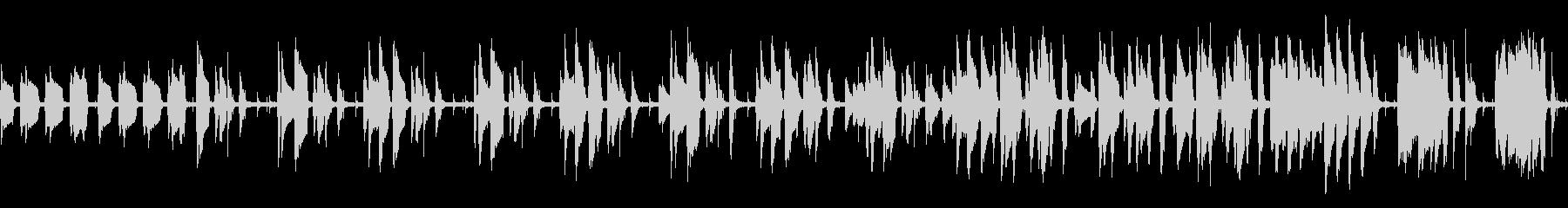 jazz系BGM(ループ仕様)の未再生の波形