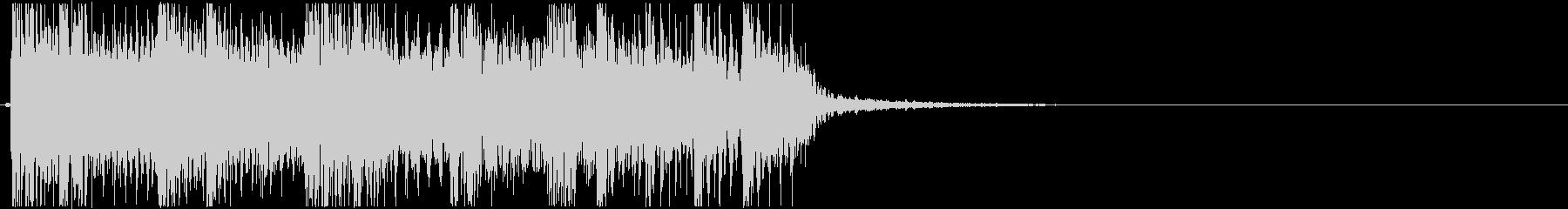 生演奏メタルなアイキャッチ11の未再生の波形
