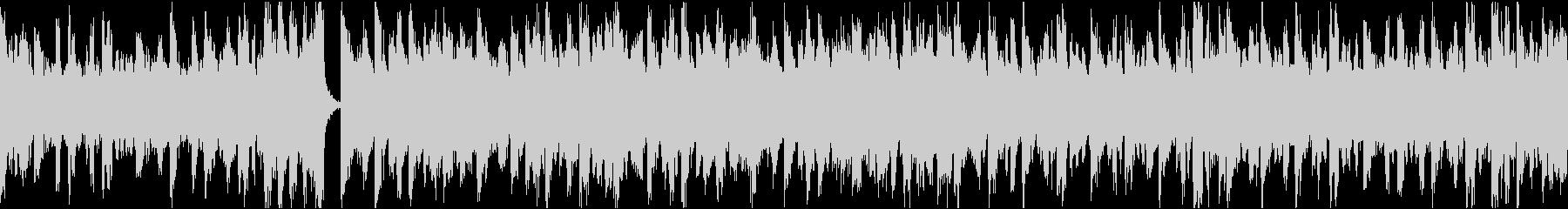 13秒でサビ、電子音ダーク/静かめループの未再生の波形