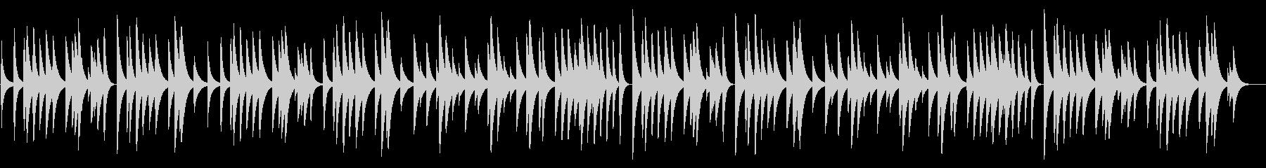 結婚行進曲 18弁オルゴール の未再生の波形