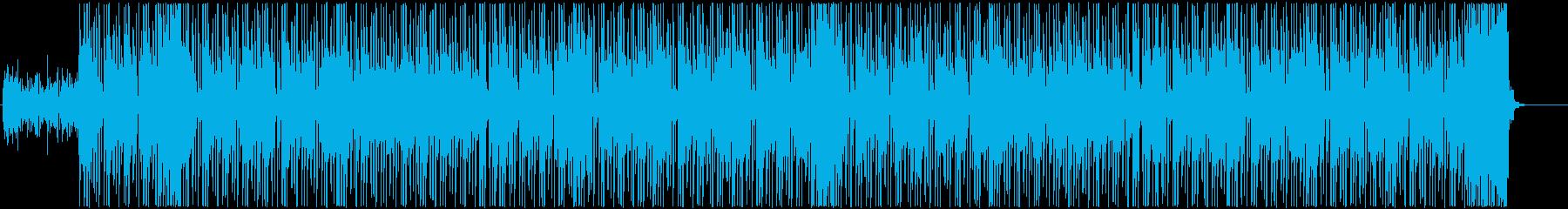 K-POP、ニュージャックスウィング!!の再生済みの波形