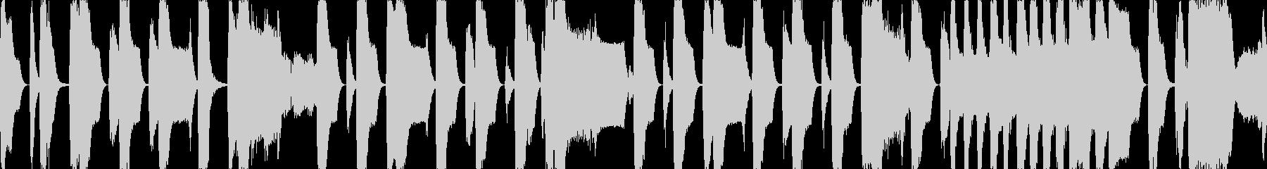 レトロなRPG風のBGMですの未再生の波形