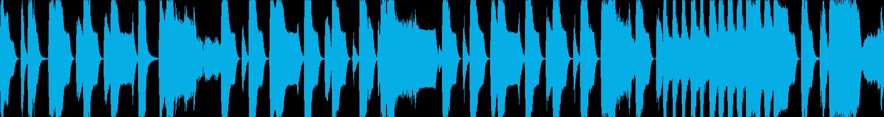 レトロなRPG風のBGMですの再生済みの波形
