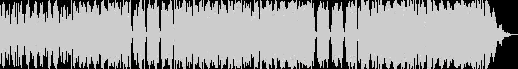 シャッフルビートPOPSの未再生の波形