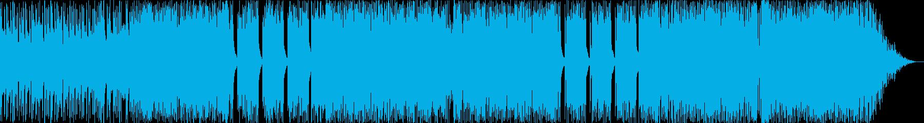 シャッフルビートPOPSの再生済みの波形