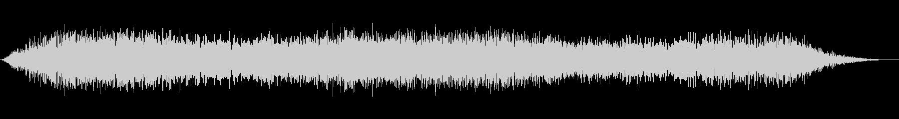 ダークディスタント・グラミングの未再生の波形