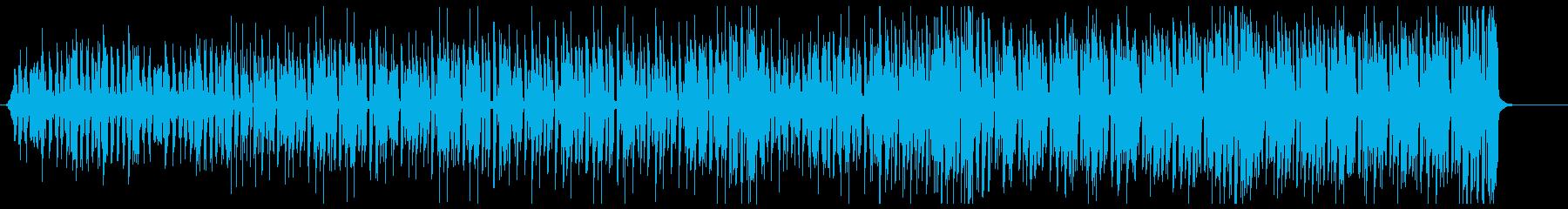 K-POP、EDM、ディスコ bの再生済みの波形
