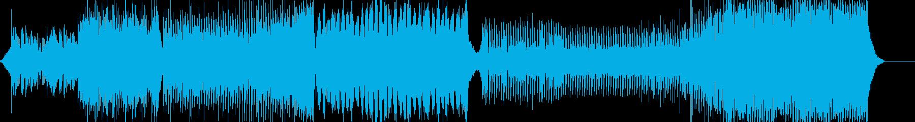 可愛いfuturebassの再生済みの波形