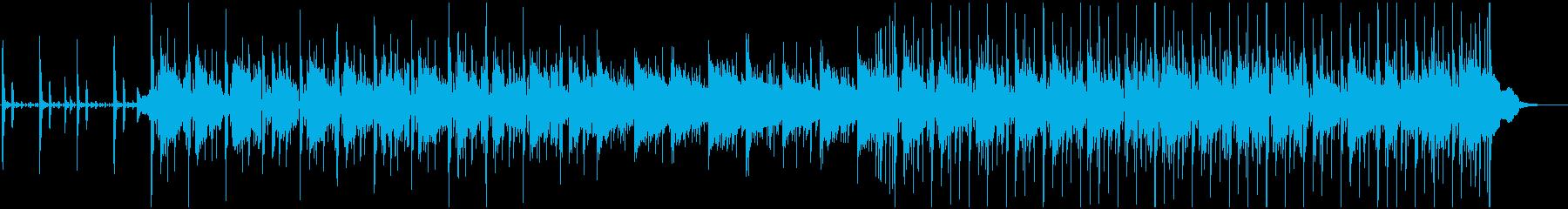 滑らかで心地よいラウンジジャズの再生済みの波形