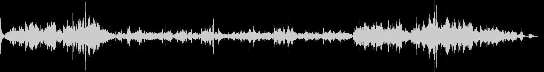ショパン最大の有名曲の未再生の波形