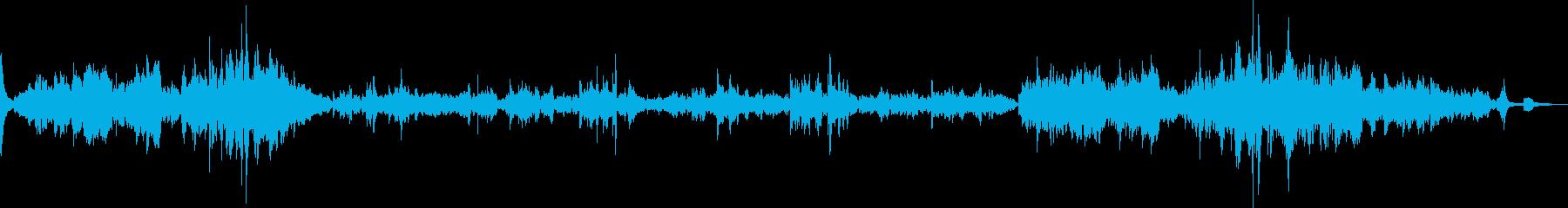 ショパン最大の有名曲の再生済みの波形