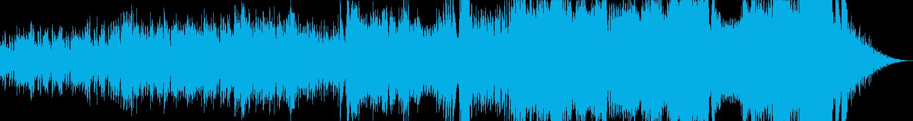 鹿鳴館ワルツの再生済みの波形