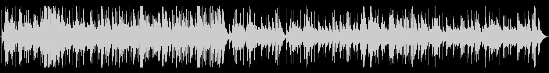 木琴(マリンバ)のとぼけた感じの曲(速)の未再生の波形