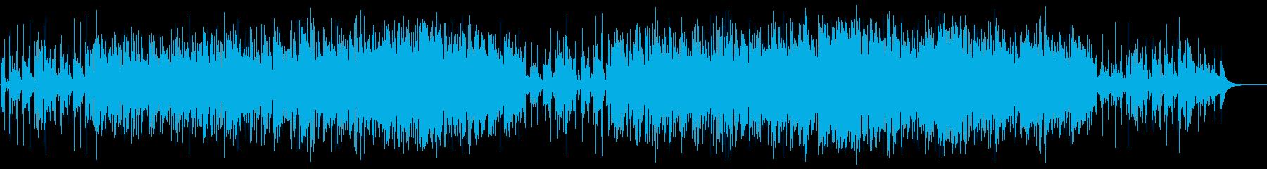 スローで癒されるソロギターの再生済みの波形