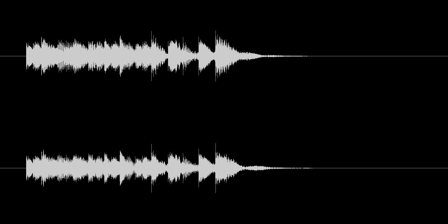 ピロピロピロリンリン(透明感、打楽器)の未再生の波形