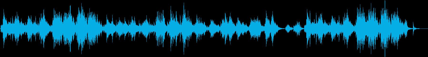 木枯らし吹く秋の風景のピアノソロ・長め版の再生済みの波形