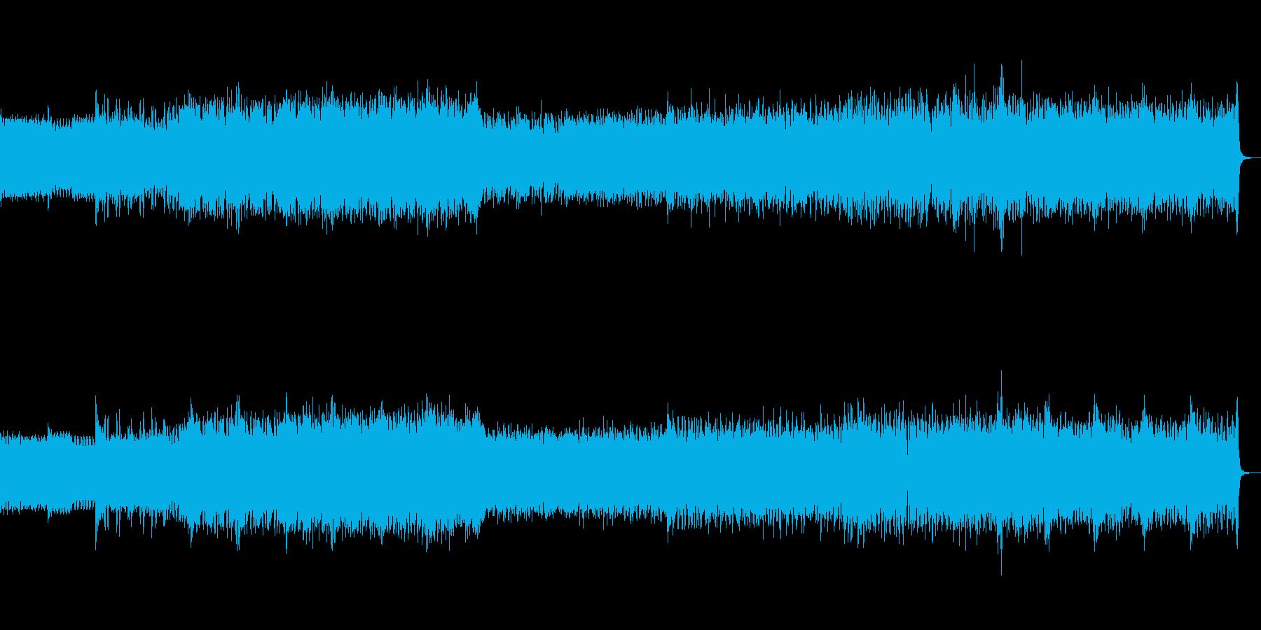 ピアノをメインとした激しい幻想サウンドの再生済みの波形