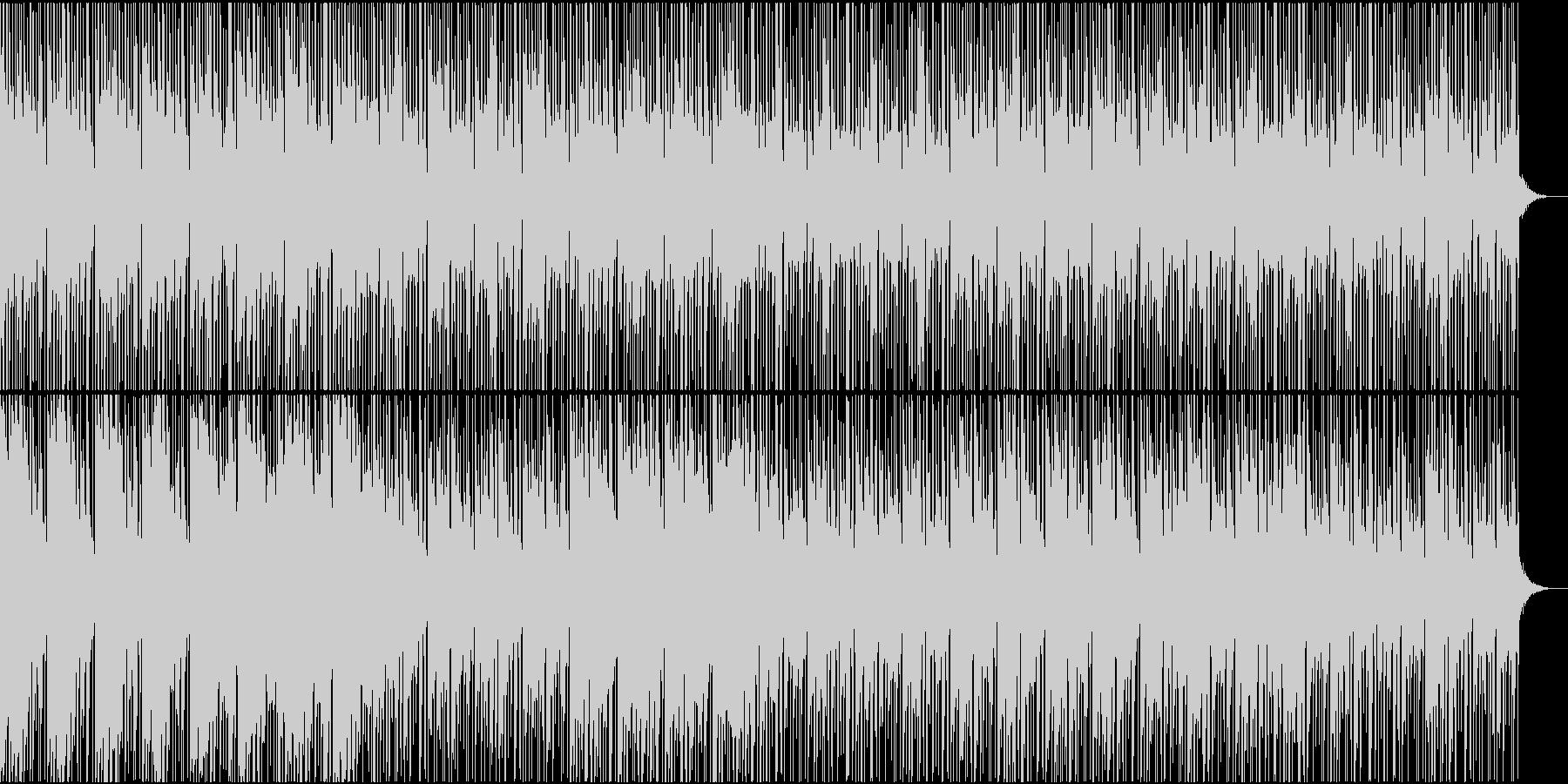 サスペンス・何かが起こるような曲の未再生の波形