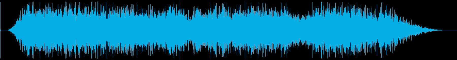 矢印の再生済みの波形