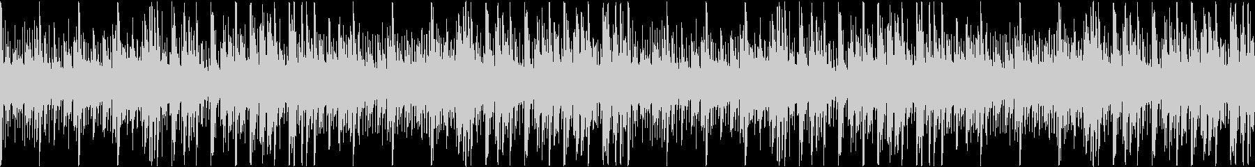 宇宙的なほのぼのエレクトロ サウンドロゴの未再生の波形