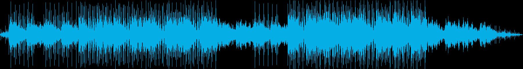 レトロ・ジャジーでチルでLoFiなBGMの再生済みの波形