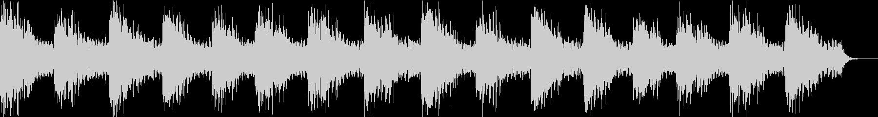 ヒーリング系のアンビエントの未再生の波形