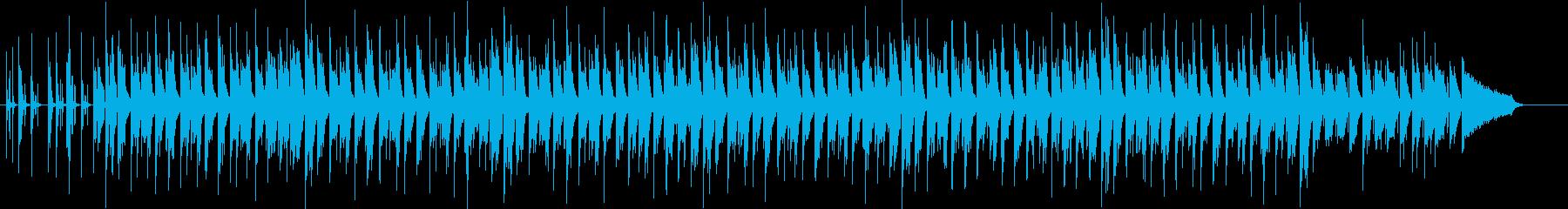 ほのぼのしたヒップホップの再生済みの波形