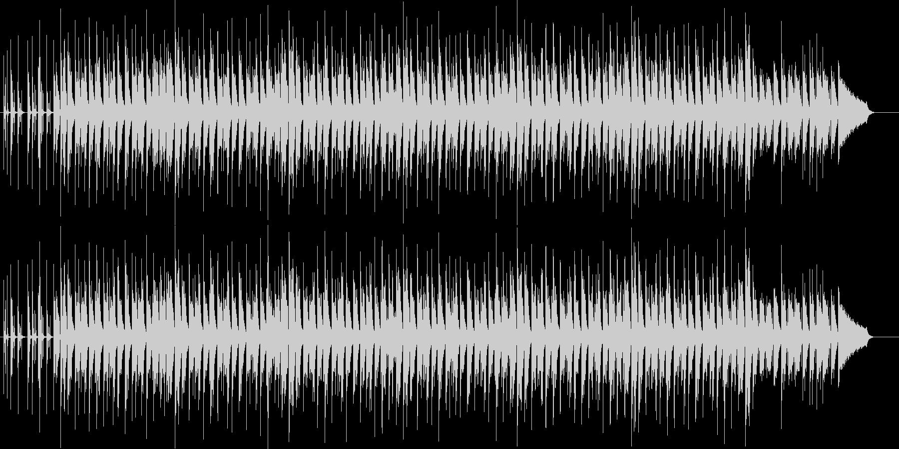 ほのぼのしたヒップホップの未再生の波形