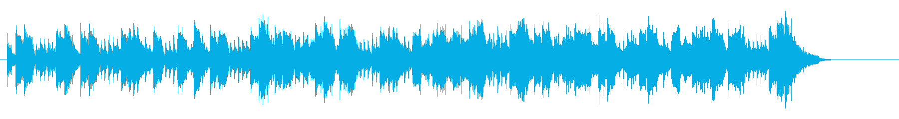 愉快で怪しいマイナーワールドミュージックの再生済みの波形