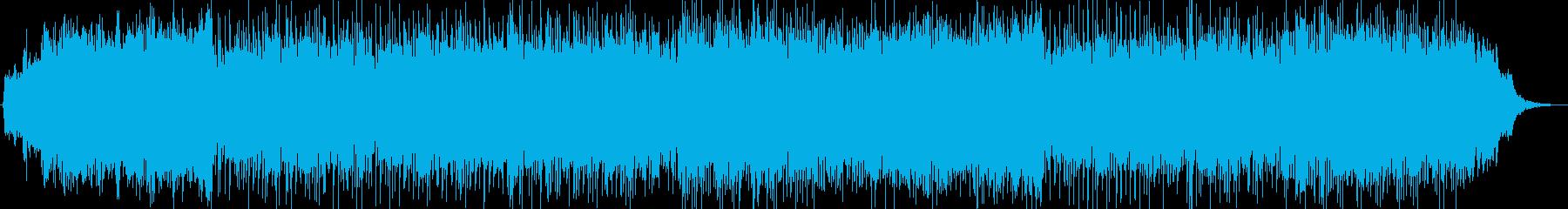 ノスタルジックなシンセポップスの再生済みの波形