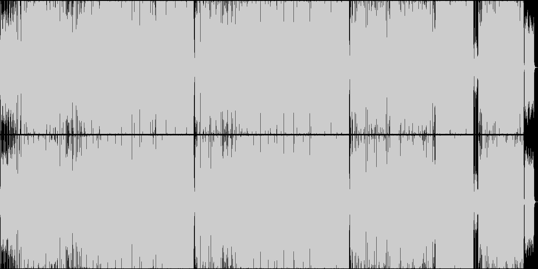 カワボ+オシャレバンドの未再生の波形