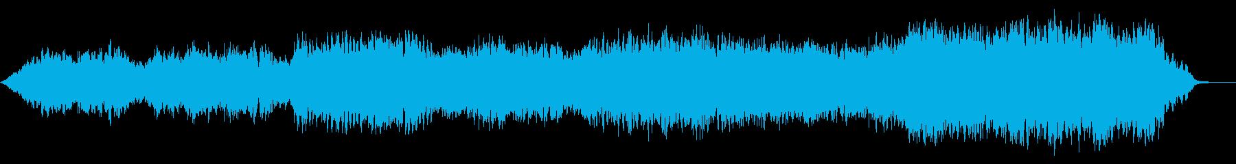 SFテクスチャー9 浮遊感 神秘・幻想 の再生済みの波形
