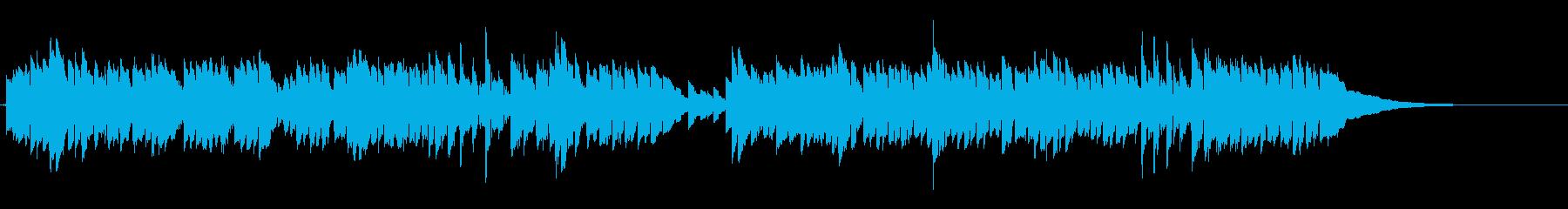 おおスザンナをアコースティックギターでの再生済みの波形