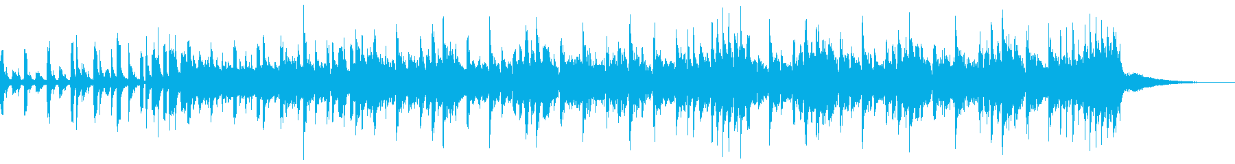 ホーンショットとラテン語アクセント...の再生済みの波形