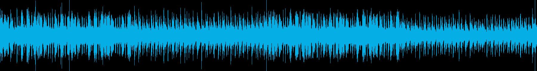 【ループ】酒場風ジャズのBGMの再生済みの波形