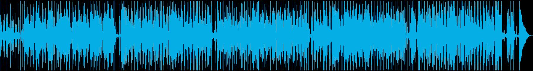 優しくほのぼのと奏でるジャズの再生済みの波形