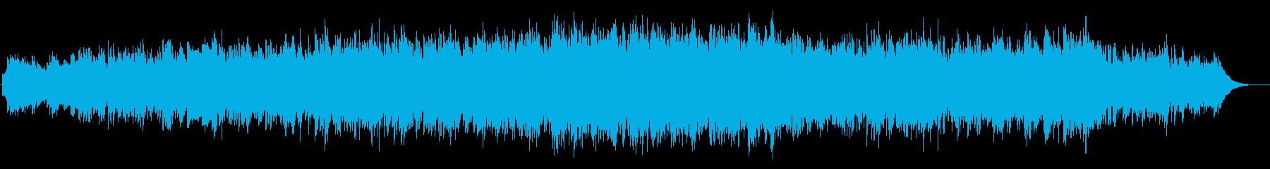 空気の澄み切った朝のBGMの再生済みの波形