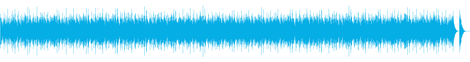 Japanese-style orthodox festival music's reproduced waveform