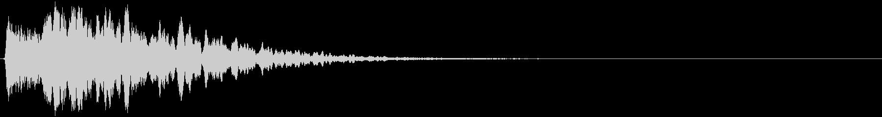 RPG系魔法発動予兆イメージ音の未再生の波形