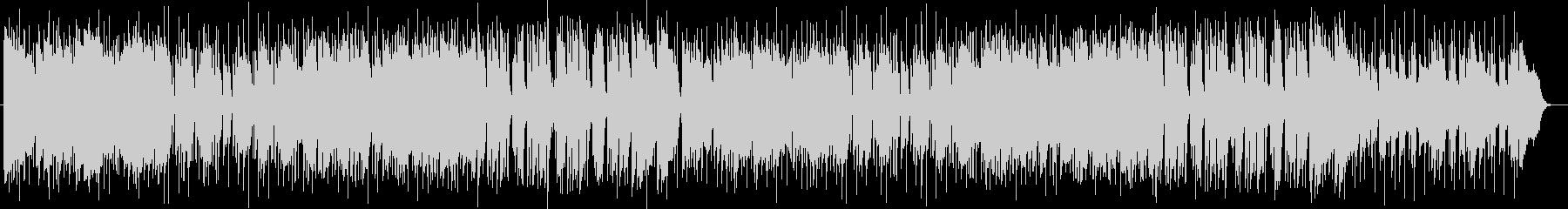 キーボードとピアノのポップスの未再生の波形