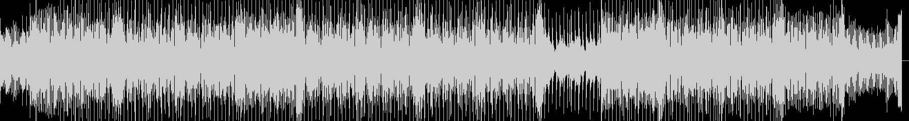 切ないピアノと怪しげなバッキングのBGMの未再生の波形