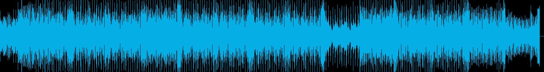 切ないピアノと怪しげなバッキングのBGMの再生済みの波形