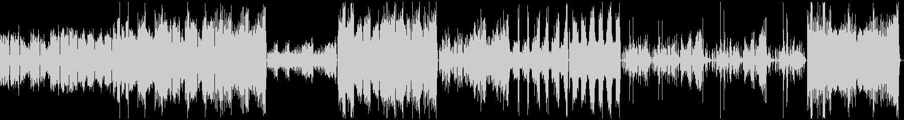 きらきら星変奏曲(フルバージョン)の未再生の波形