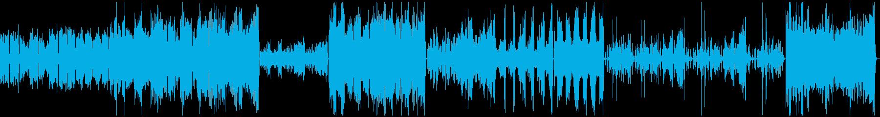 きらきら星変奏曲(フルバージョン)の再生済みの波形