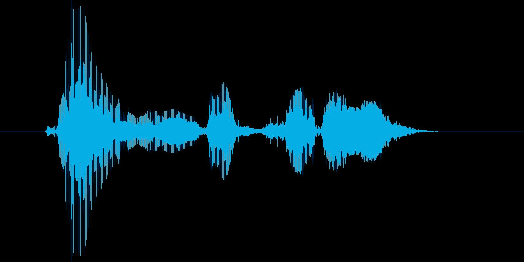ラウンドスリーの再生済みの波形