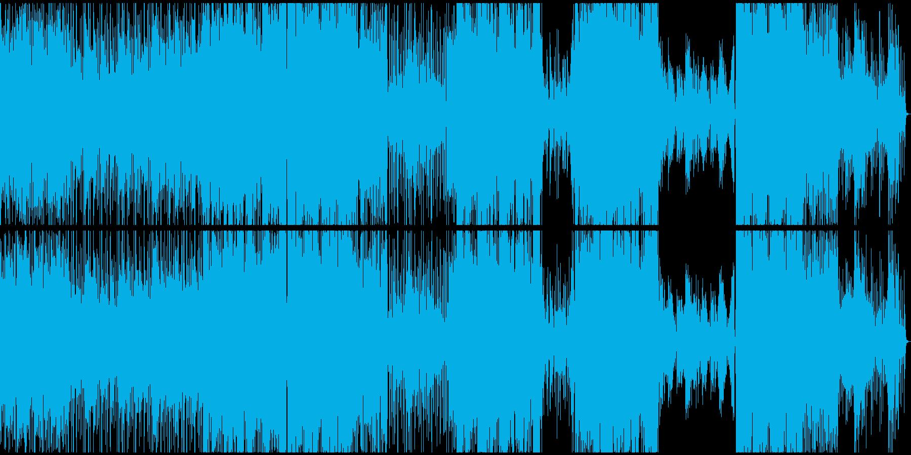 水中っぽさ+エレクトロ=ミズトロニカの再生済みの波形
