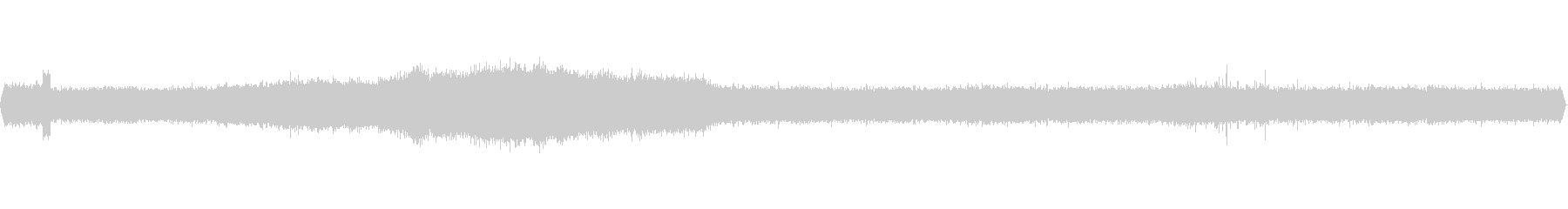 飛行場、空港展望デッキ環境音(ステレオ)の未再生の波形
