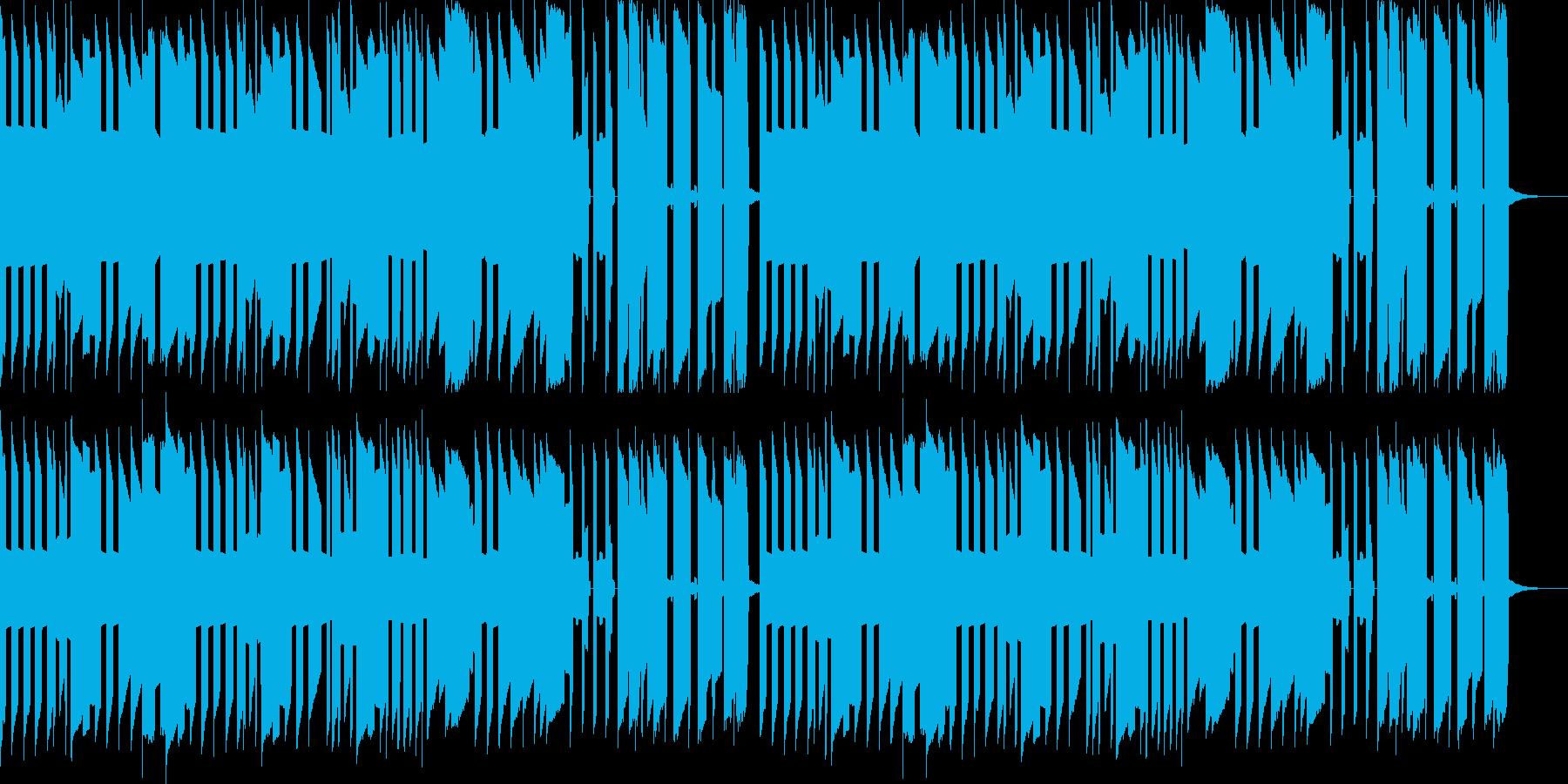 あの名曲を8bitファミコン風アレンジの再生済みの波形