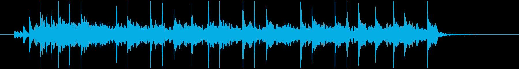 OPに使える短めのロックの再生済みの波形