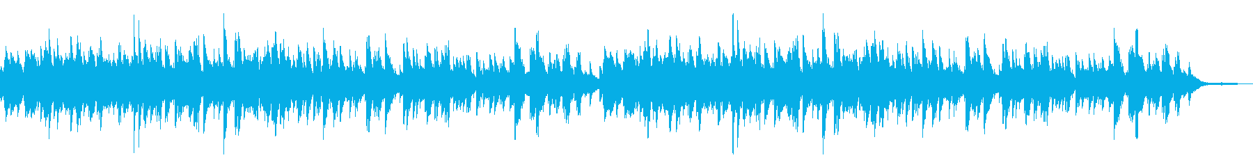 優しい温かな曲調 3拍子のピアノソロの再生済みの波形